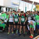 Cerca de 500 participantes en la I Carrera solidaria de El Corte Inglés y la Fundación Nipace