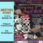 Guadalajara rendirá homenaje a Angel Nieto en el viejo circuito de velocidad del Polígono
