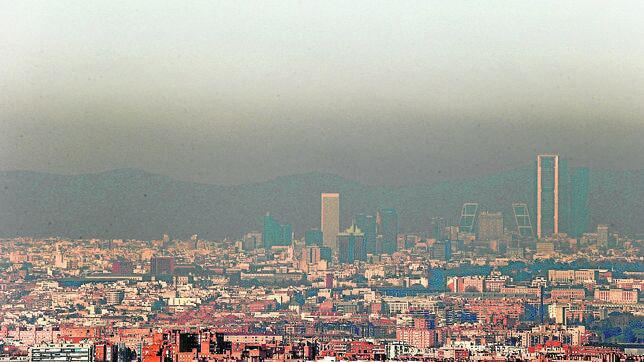 Contaminación actual en Madrid. (Foto Ecologistas en Acción)