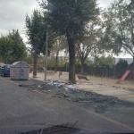 Once contenedores de basura han ardido en los últimos días
