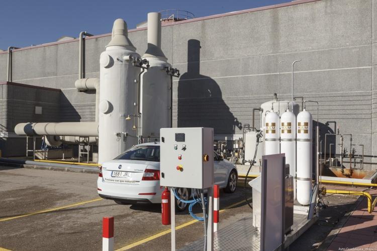 Visita Planta depuradora de aguas residuales