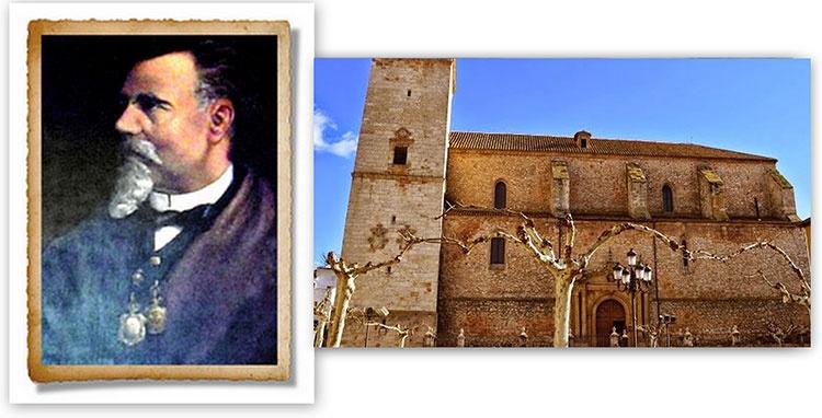 Gabriel de la Puerta y Ródenas, nació en Mondéjar