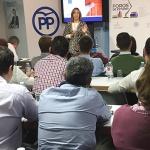 Ana Guarinos pone en valor el trabajo de los alcaldes y concejales del PP en la provincia de Guadalajara