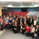 Bellido arropado con el apoyo de la Plataforma de Mujeres Socialistas