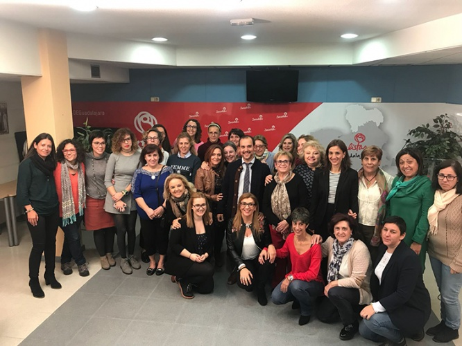 Bellido ha recibido el apoyo de la Plataforma de Mujeres Socialistas