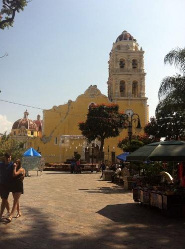 Iglesia de la localidad de Atlixco