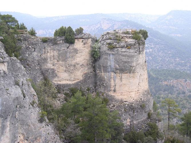 Mirador en el Alto Tajo