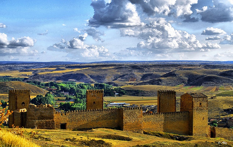 Castillo de Molina de Aragón, capital del Señorío