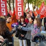 Los trabajadores piden que no se cierre Unipost y reclaman soluciones