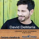 Concierto de Navidad de Manos Unidas con David Demaría