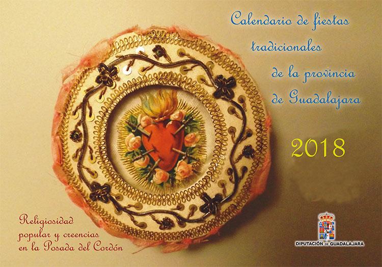 Portada del Calendario de Fiestas Tradicionales de 2018