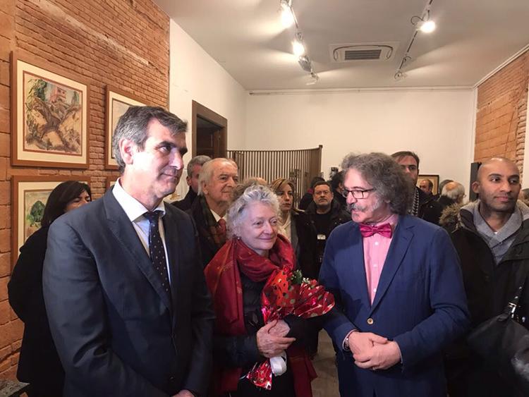 Inauguración del nuevo espacio expositivo dedicado a José de Creff