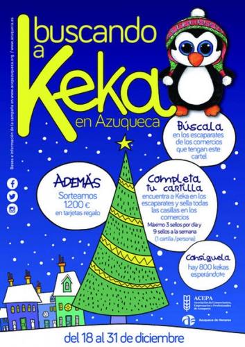 Cartel de la campaña Buscando a Keka