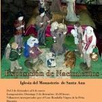 Las monjas cistercienses de Brihuega exponen 200 belenes