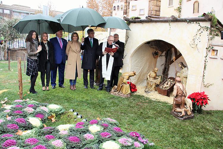 Inauguración del tradicional Belén de Caja Rural Castilla-La Mancha