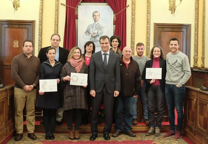 Ganadores del concurso de escaparates navideños