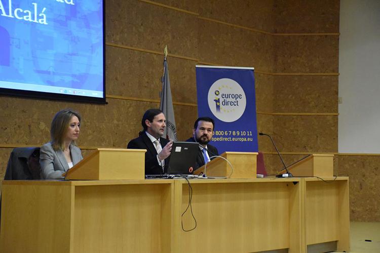 Un momento de la Jornada Erasmus Direct