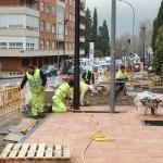 Las obras de la calle Sigüenza, a punto de estar terminadas