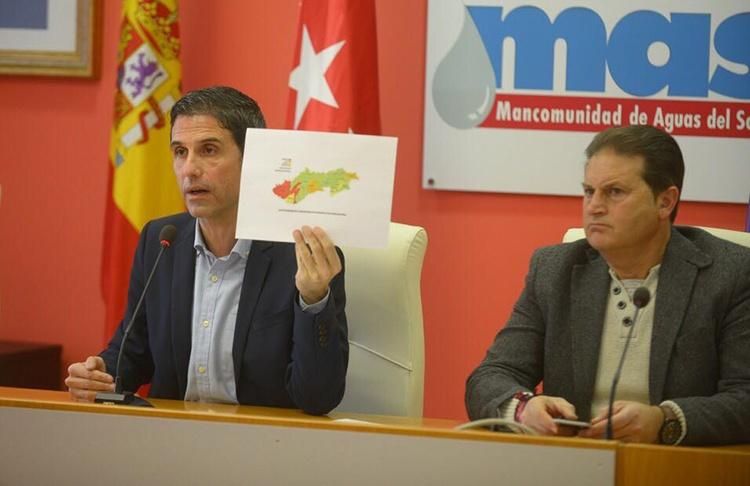 El presidente de la MAS, Javier Rodríguez Palacios en rueda de prensa