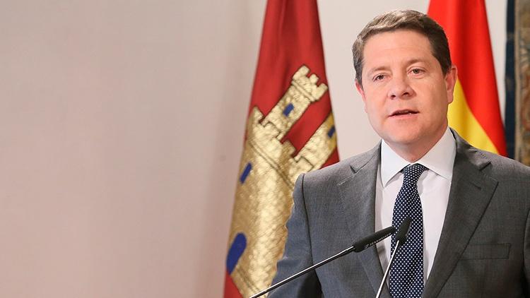 El presidente de Castilla-La Mancha, Emiliano García Page