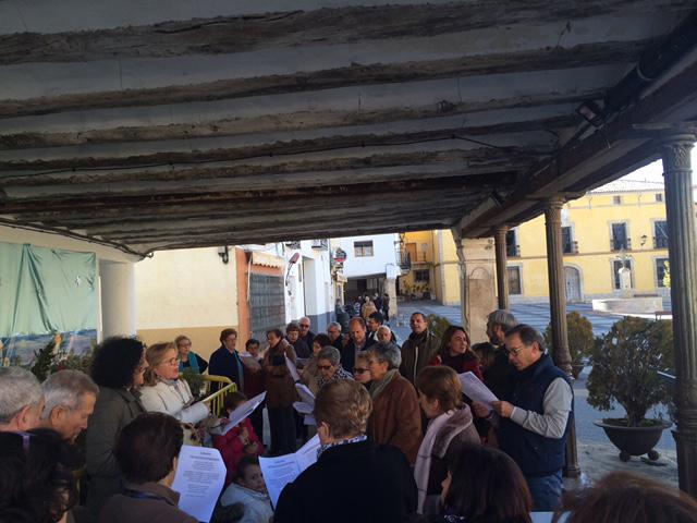 Música navideña en Pareja