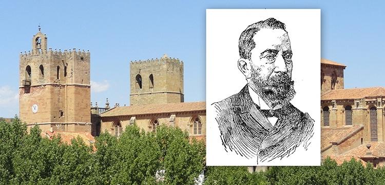 Manuel Pérez Villamil, en la catedral de Sigüenza