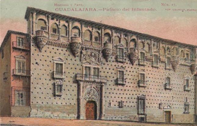 Pérez Villamil fue el encargado de hacer el informe para la protección Histórico-Artística del Palacio del Infantado