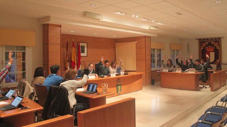 Pleno del Ayuntamiento de Cabanillas del Campo