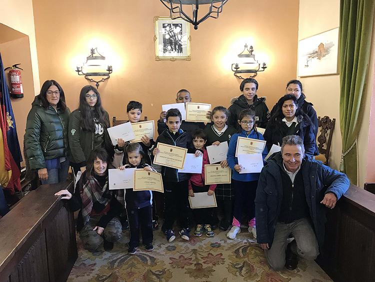 Alumnos participantes ganadores