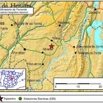Se registra en Yebra un terremoto de 3,7 grados de magnitud a las 5,28 de esta madrugada