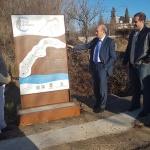 Diputación señaliza la ruta del  Viaje a la Alcarria con paneles y balizas en los caminos del itinerario