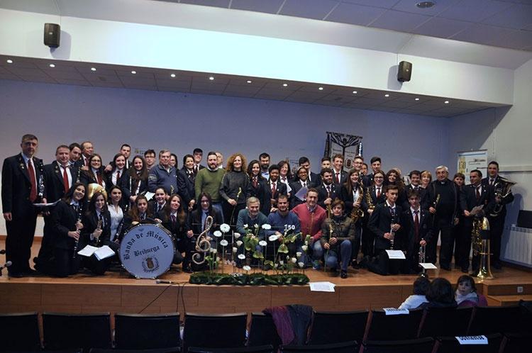 Comienzan los actos del 150 aniversario de la banda de música de Brihuega