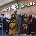 Los Reyes Magos llegaron en AVE a Valdeluz