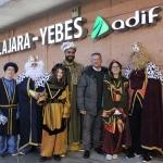Los Reyes Magos llegaron en AVE a Valdeluz