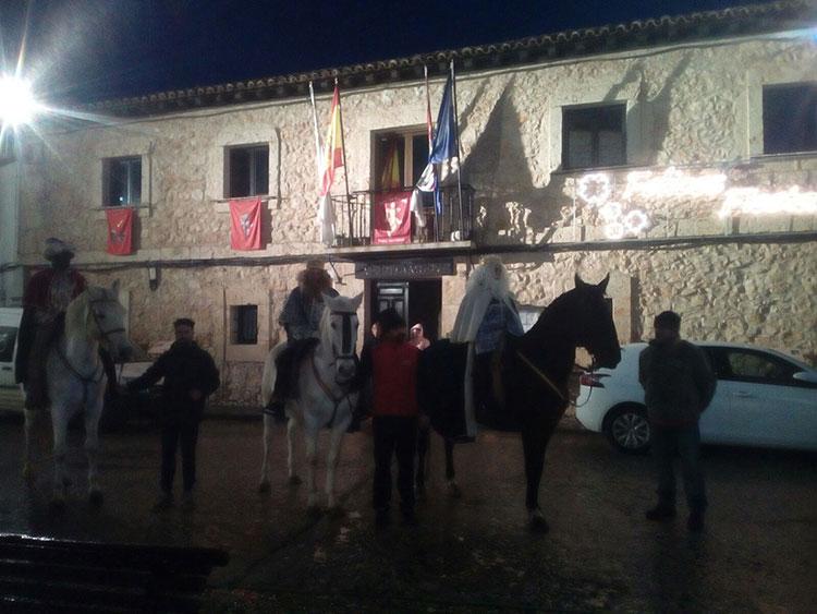 Los Reyes Magos en Fuentenovilla