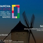 El stand de Castilla-La Mancha en FITUR acogerá medio centenar de presentaciones que se podrán seguir en www.fiturclm.com