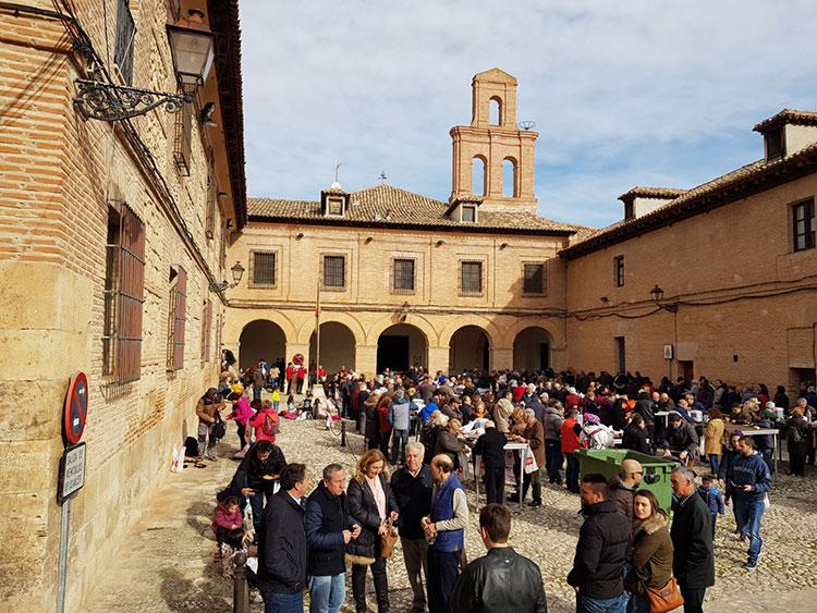 Celebración de San Antón y San Sebastián en Pastrana