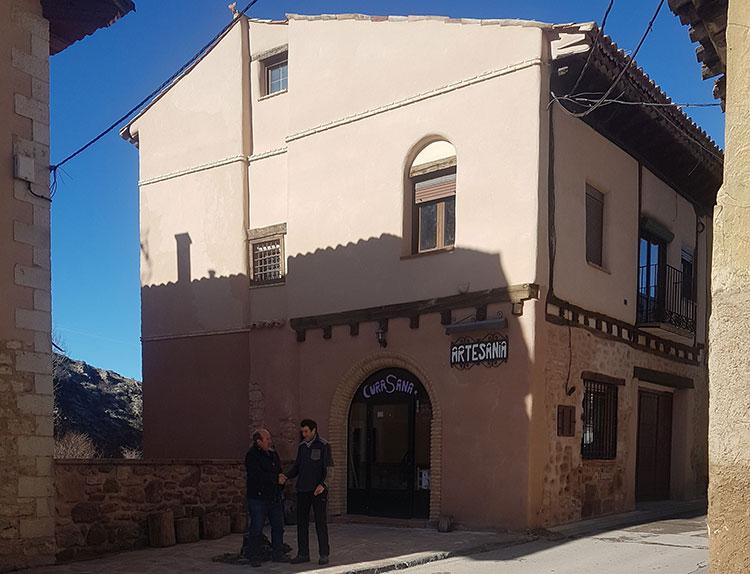 Una de las viviendas rehabilitadas en Molina