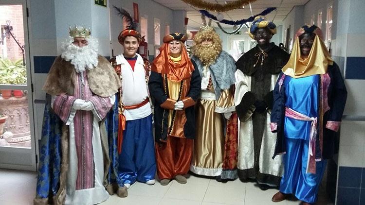 Los Reyes Magos a su paso por Almonacid de Zorita