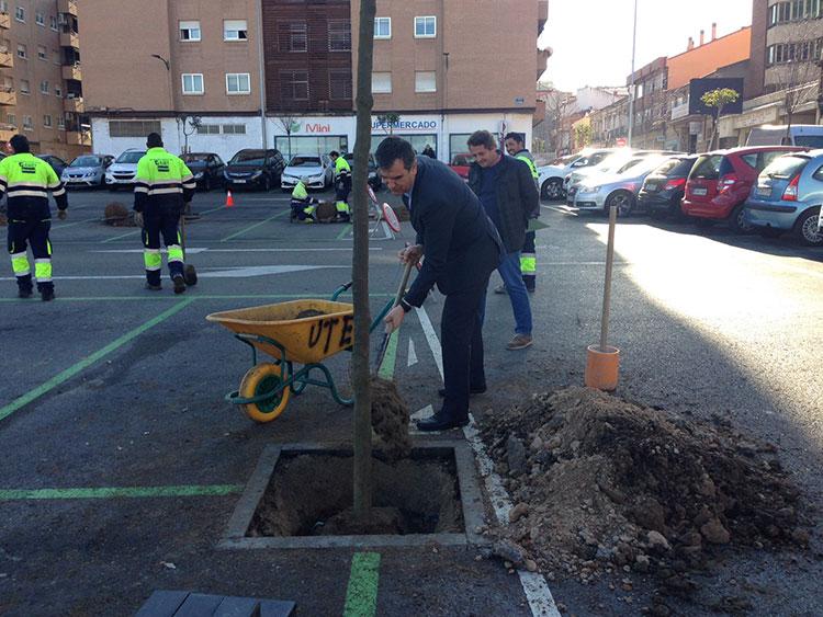 El alcalde Antonio Román ha iniciado la campaña