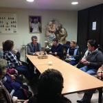 Román mantiene una reunión con las Conferencias de San Vicente de Paúl