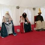 Los Reyes Magos visitan esta semana la Plaza Navideña para recoger las cartas de todos los niños