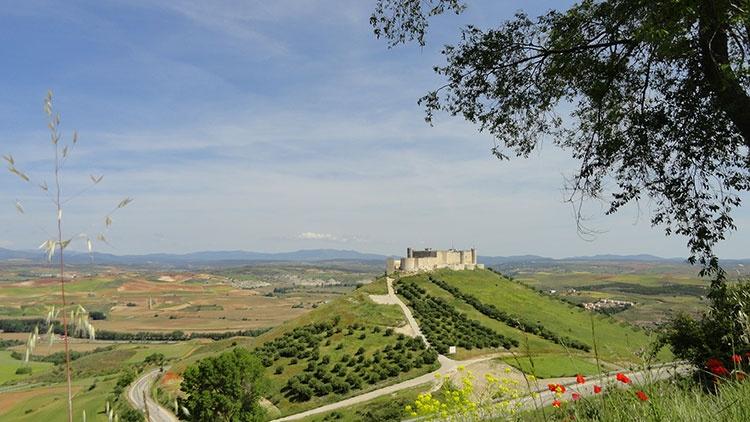 El Castillo de Jadraque, que siempre estuvo en la mirada de Eduardo Contreras