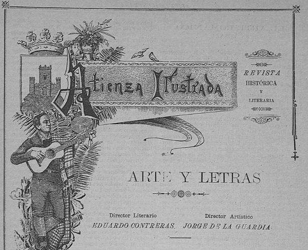 Atienza Ilustrada. La primera revista que fundó don Eduardo Contreras