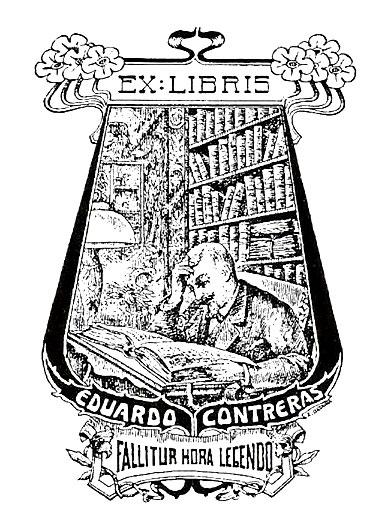 Ex libris de Eduardo Contreras