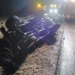 Un fallecido en las cercanías de Budia al volcar el vehículo en el que viajaba