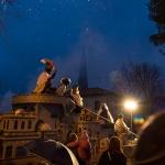 Los Reyes Magos despidieron, bajo la lluvia, una Navidad en Trillo repleta