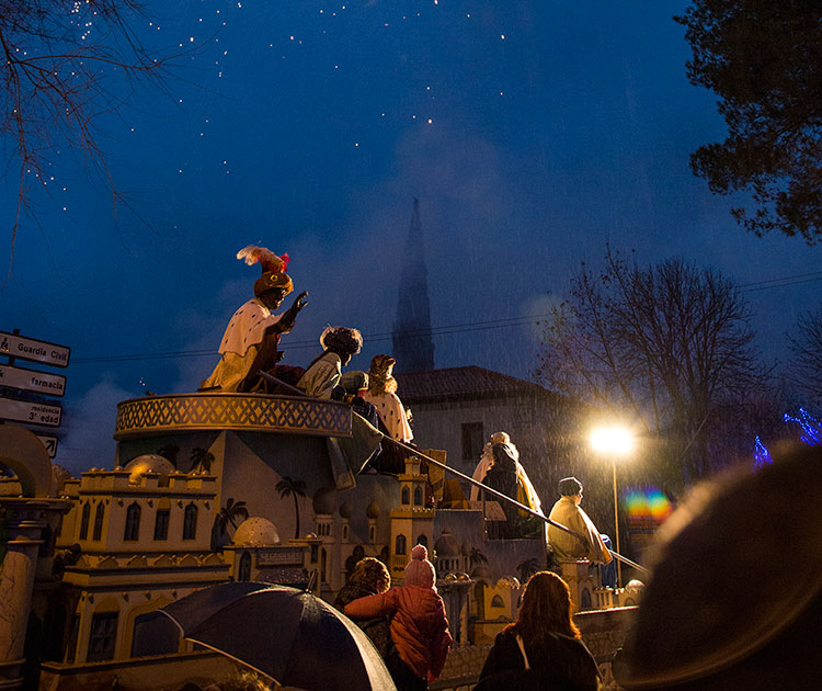 Los Reyes Magos también pasaron por Trillo