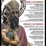 Una decena de actos componen el programa de la Fiesta de San Blas, patrón de Cabanillas del Campo