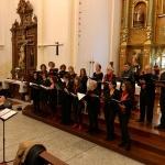 Polifonía navideña y más de 400 euros de solidaridad en el Concierto de Año Nuevo de Cabanillas